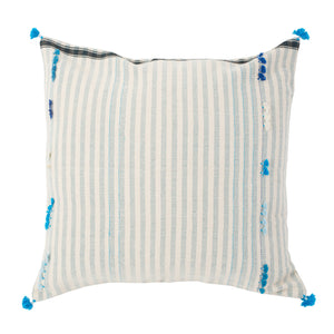 Large Striped Indian Throw Pillow Sham
