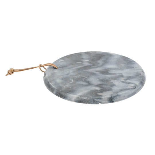 Marble Board With Leather Tie