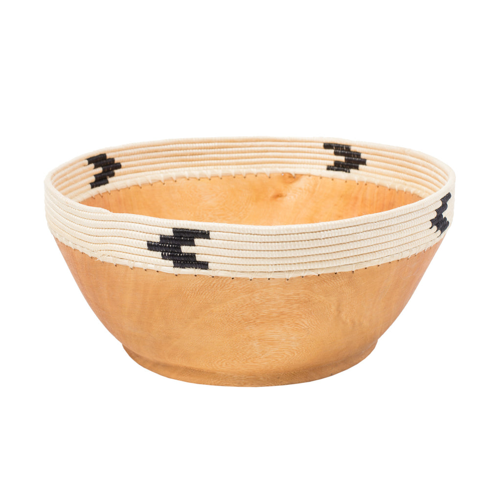 Small White & Black Copabu Bowl