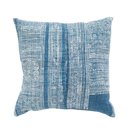 Blue Boho Pillow