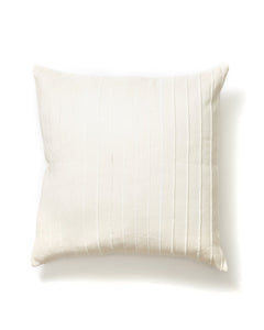 Recycled Stripe Pillows in Cream