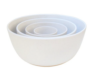 Oyster Bowls, Cream