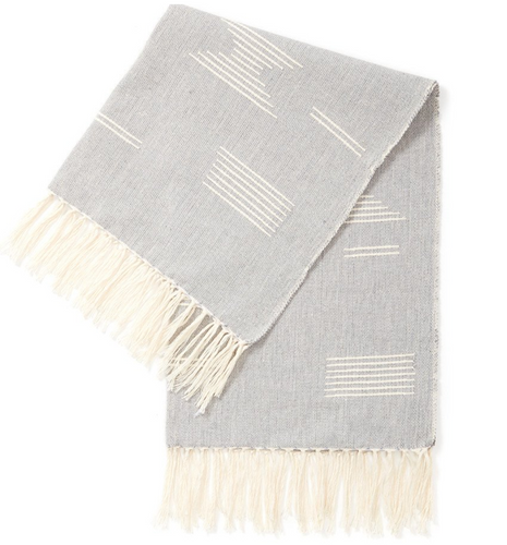 Shapes Tea Towel in Grey