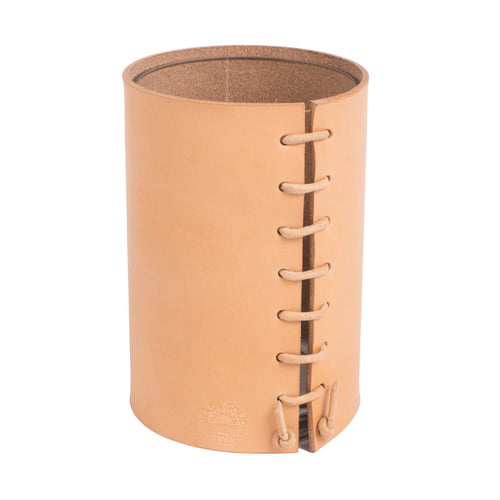 XSmall Leather Wrapped Vase