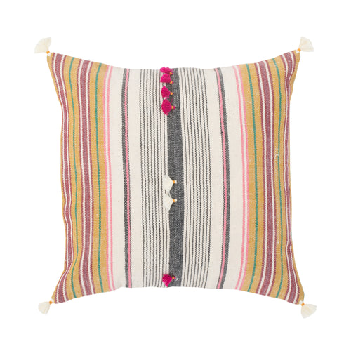 Small Square Indian Throw Pillow Sham