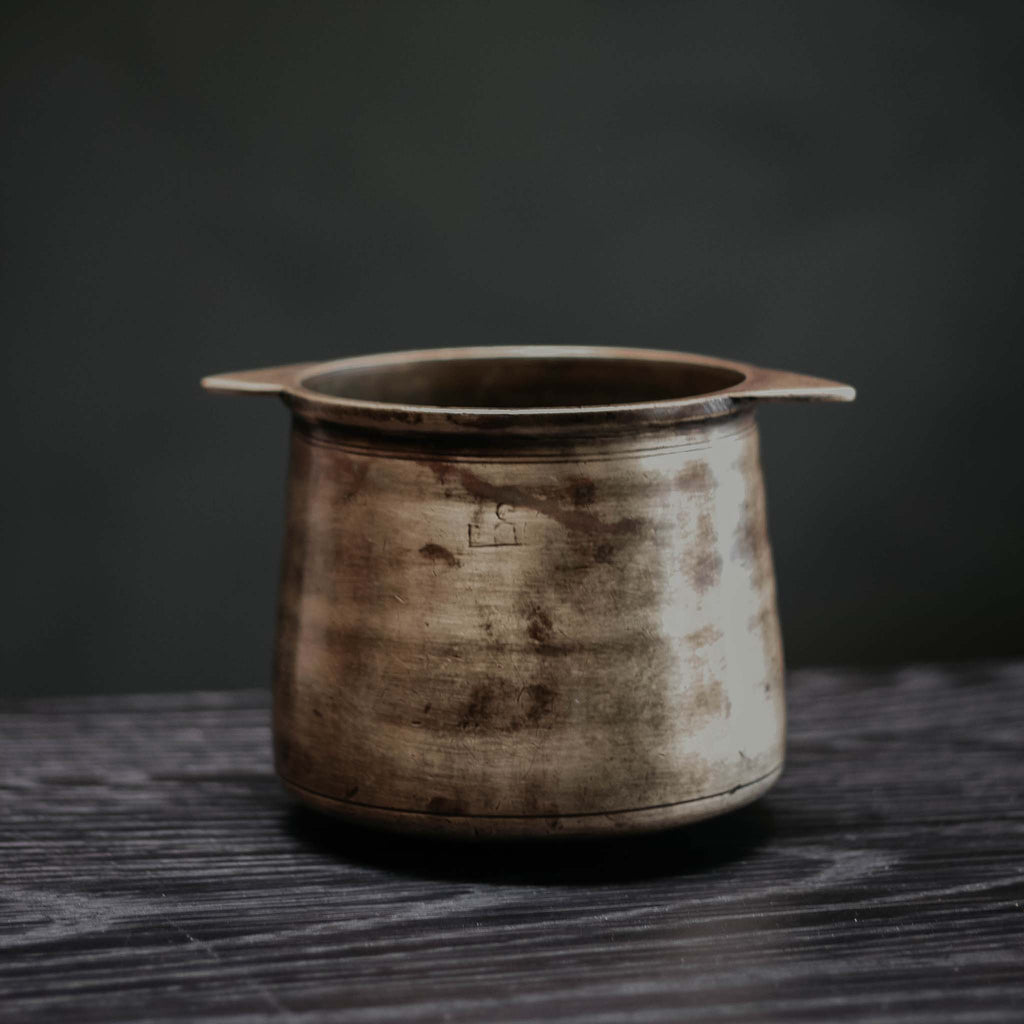 Tall Bronze Bowl