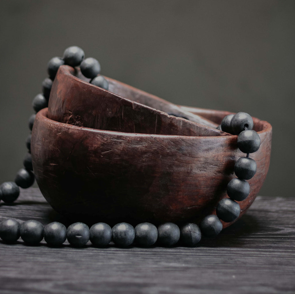 Dark Wooden Bowl
