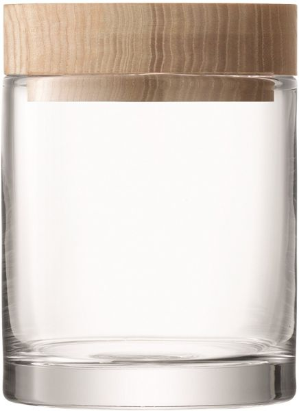 Glass Container with Ash Lid, Large
