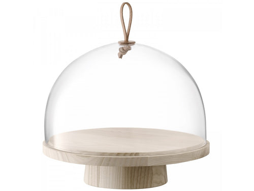 Ash Stand with Glass Dome Lid