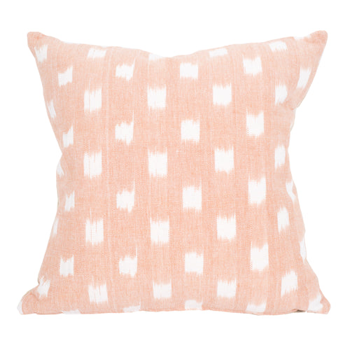 Rex Pillow Sham in White and Blush