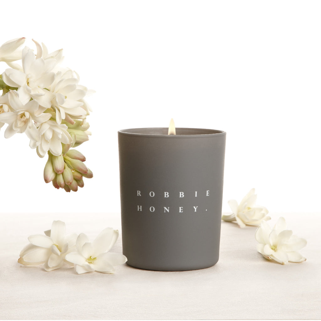 Robbie Honey Candle, Tuberose