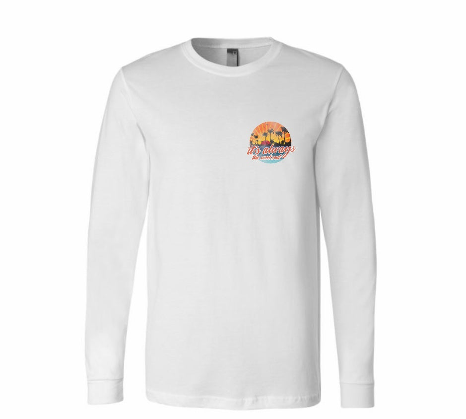 Mens Golden Hour Long Sleeve