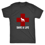 Save a Life - Men's Vintage Tee