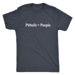 Pitbulls Are Greater Than - Men's Vintage Tee