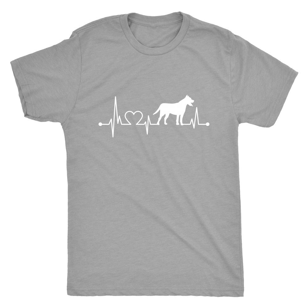 Heartbeat - Men's Vintage Tee