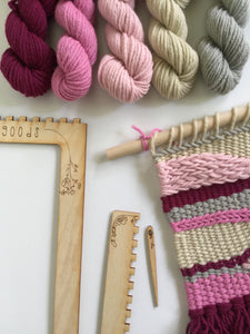 DIY Tapestry Weaving Kit - Romance