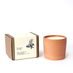 Terra Soy Olive Candle