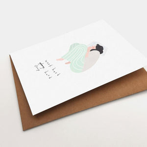 Work Hard, Sleep Hard Greeting Card