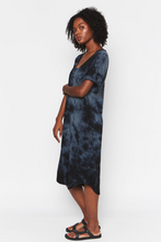 Midnight Tie Dye Recycled Cotton Dress