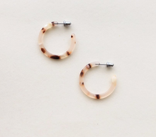 Blush Freckle Hoops
