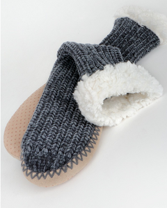 Chenille Sock Slippers