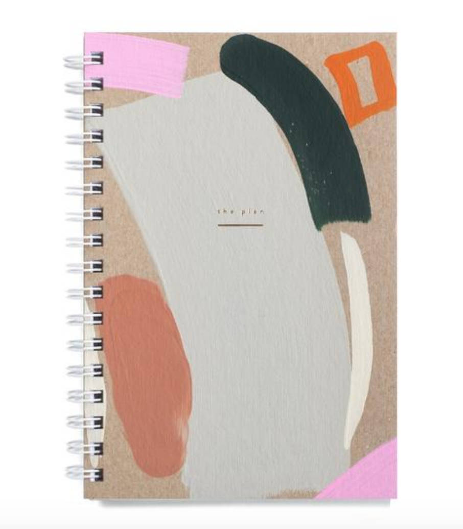 Hand Painted Weekly Planner - Foxtail