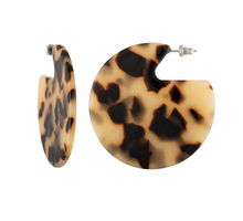 Clare Disc Earrings