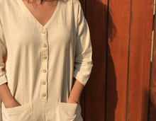 Natural Cream Jumpsuit