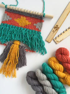 DIY Tapestry Weaving Kit - Island