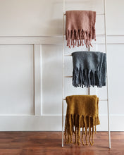 Fringed Blanket Scarf
