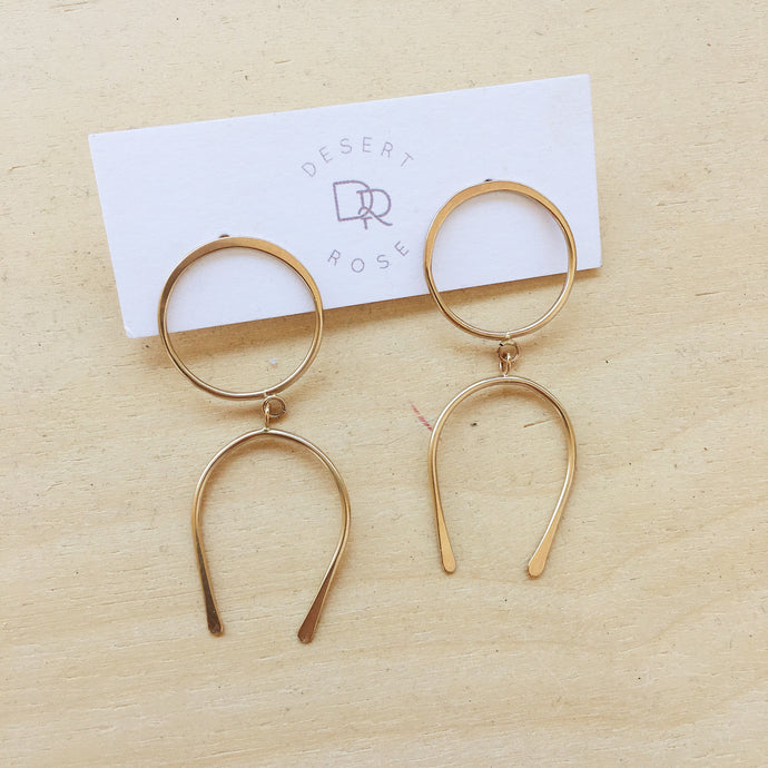 Backbone Earrings
