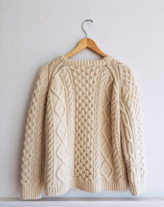 Wool Fisherman Sweater