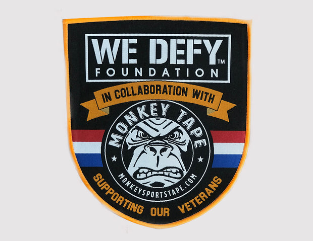 WE DEFY/Monkey Tape Collaboration patch - Accessories Monkey Sports Tape