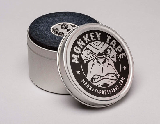 Monkey Tape Tin Holder (Tin does not contain tape) - Accessories Monkey Sports Tape