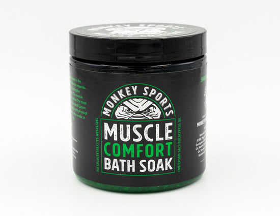 Monkey Sports Muscle Comfort Bath Soak - Recovery Monkey Sports Tape