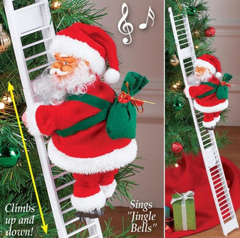 Image of Ladder Santa