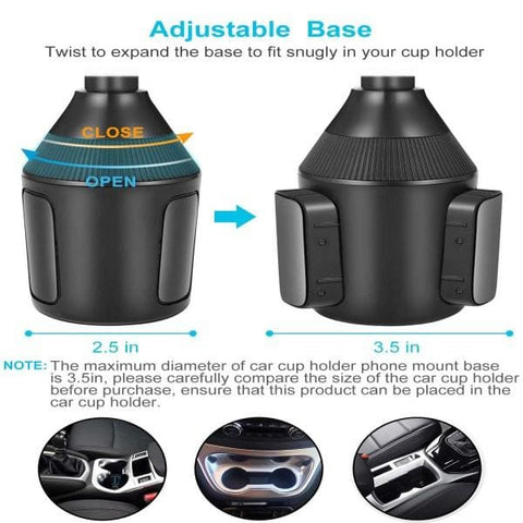 Car Cup Holder Phone Mount - Phones & Accessories / Mobile Phone Accessories / Holders & Stands