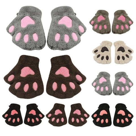 Image of Cute Cat Paw Gloves