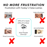 No Glue False Eyelash & Eyeliner Set