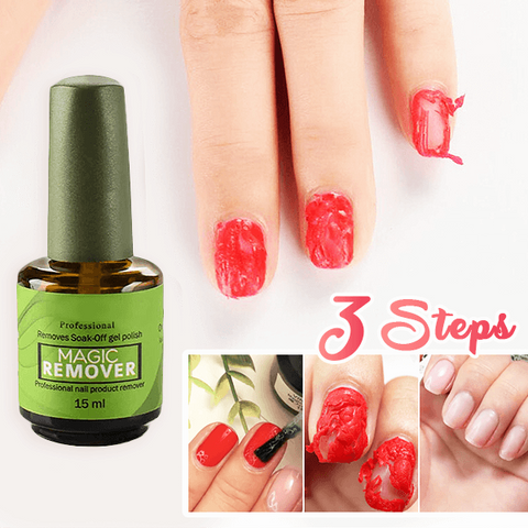 Magic Nail Polish Remover