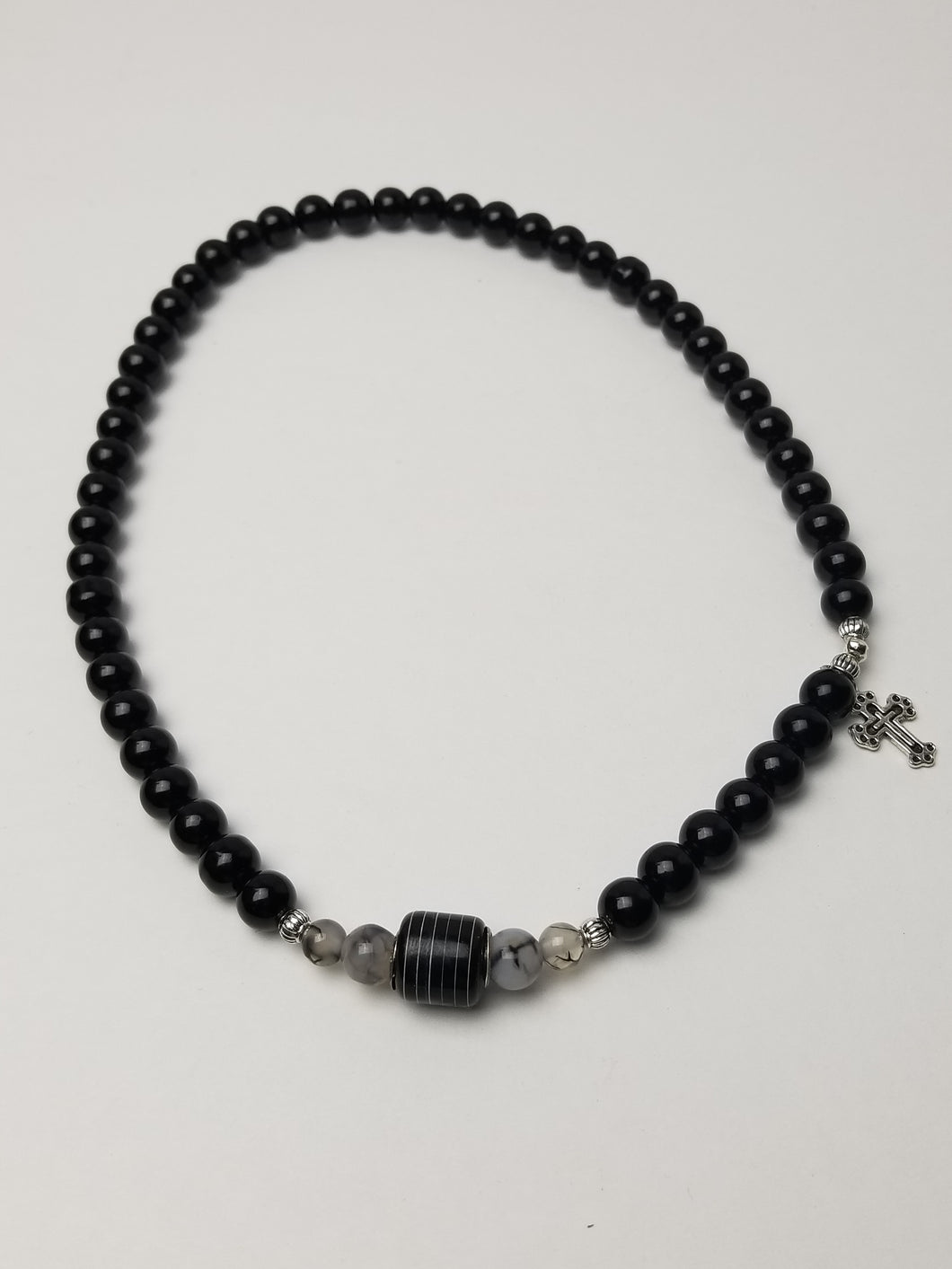 TUXEDO (Wrapped Bracelet for Him)