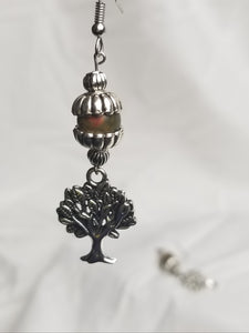 TREE OF LIFE (Earrings-Natural Stones)