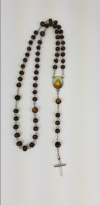 BROWN ROSARY (5 DECADES ROSARY)