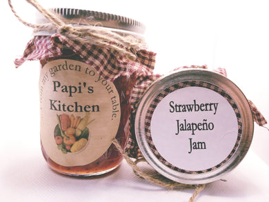 Strawberry Jalapeño Jam  - State Fair Winner!