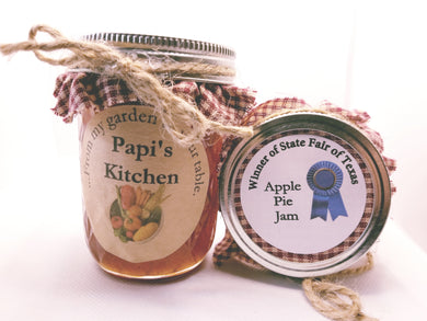 Apple Pie Jam Half Pint   - State Fair Winner!