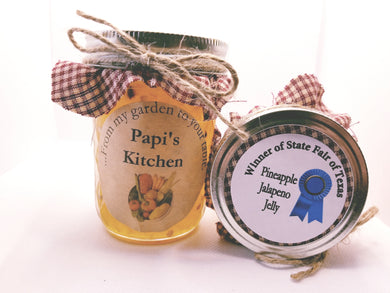 Pineapple  Jalapeño Jelly  - State Fair Winner!