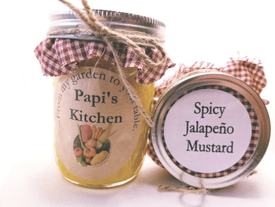 Spicy Jalapeno Mustard  - State Fair Winner!