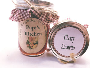 Cherry Amaretto Jam   - State Fair Winner!