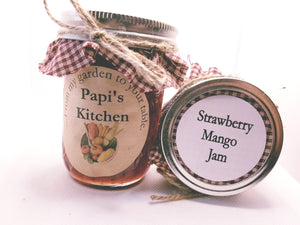 Strawberry Mango jam  - State Fair Winner!