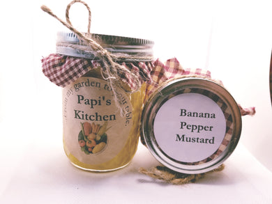 Banana Pepper Mustard Half Pint   - State Fair Winner!